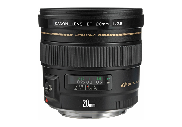 canon 20mm lens