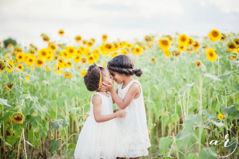 Images by Amber Robinson | Raleigh Wedding Photographer | Sunflowers